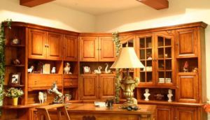 Birch Solid Wood Kitchen Furniture pictures & photos