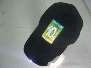 LED Cotton Embroidery Popular High Quality Baseball Cap with Bottle Opener