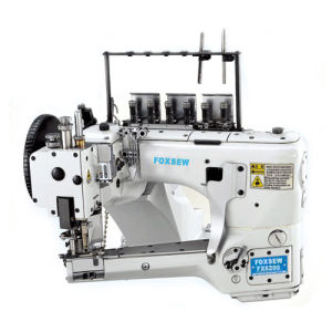 4 Needle 6 Thread Feed-off-The-Arm Flat Seaming Machine pictures & photos