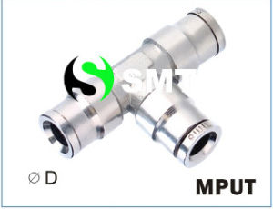 Mput Metal Push in Fittings pictures & photos
