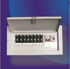 Plug-in Model Single Phase Metal Distribution Box