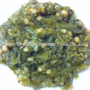 100% Pure Natural Minced Green Chili Sauce Seasonings for Food Ingredients