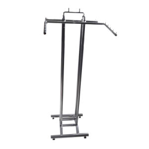 Chrome Garment Rack with 4 Style Hanging Bars pictures & photos