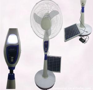 Solar Rechargeable Fan, Solar Fan, AC/DC Operated Fan, Stand Solar Fan, Remote Control Fan, Rechargeable Fan pictures & photos