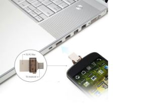 Multi-Functional Andorid Smartphone OTG USB Flash Drive (P404) pictures & photos