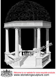 Marble Gazebo, Stone Gazebo, Cast Iron Gazebo (SK-2515) pictures & photos