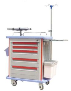 High Quality Hospital Emergency Trolley (THR-ET-8500IA) pictures & photos