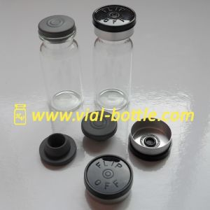 Glass Vial Bottles, Butyl Rubber Stoppers (HVGV024) pictures & photos