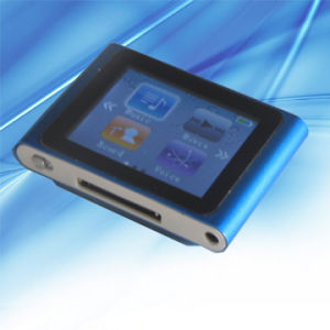 "6th Clip MP4 Player 1.8"" Touch Screen (SF-MP119C)"
