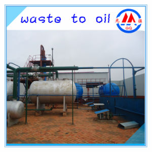 Continuous Complete Negative Pressure Pyrolysis Oil to Diesel Gasoline Distillation Plant