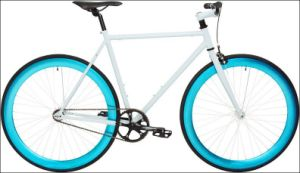 700C New Model Hot Sale Specialized White Fixed Gear Bike (ZL-FX-005) pictures & photos