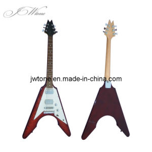 Custom Quality Flying V Electric Guitar pictures & photos