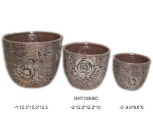 Ceramic Flower Pot Planter (D3-70305C)