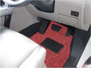 Durable PVC Coil Car Carpet /Mats -Red/Black pictures & photos