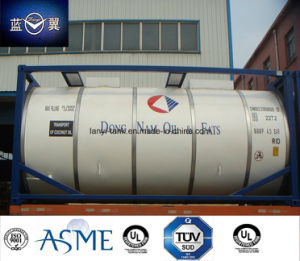T50 Liquied Gas Tank Container for LPG, Ammonia, R134A, R22, Butune, Propene, Refrigerant pictures & photos