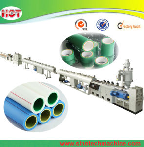 Plastic PPR Hot Water Pipe Extrusion Making Machine pictures & photos