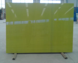 4mm/5mm/Painted Glass /Yellow Painted Glass pictures & photos