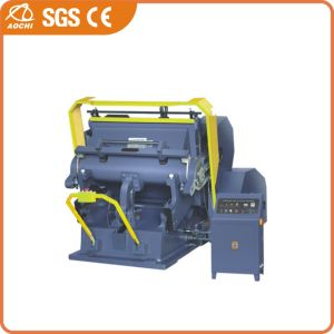 Die Cutting & Creasing Machine with CE (ML750-ML1100) pictures & photos