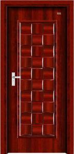 Interior Steel Wooden Door (LTG-102) pictures & photos