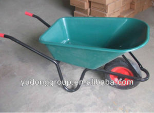 Poly Tray Wheelbarrow Wb6414 Plastic Wheelbarrow pictures & photos