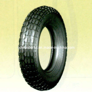 Rubber Tyre/Tire for Wheelbarrow Wheel and Tool Cart Wheel (4.00-8)