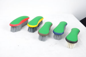 Plastic Equestrian Grooming Brushes
