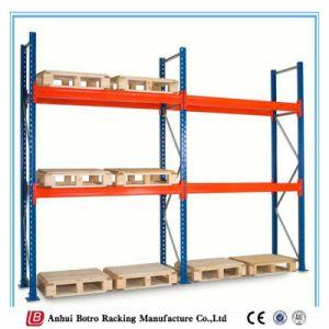 Double Deep Storage Galvanized Steel Pallet Rack pictures & photos