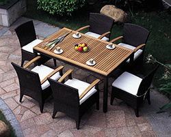 Rattan Dining Set (C237)