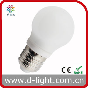G45 3W E27 Plastic Round LED Lamp pictures & photos