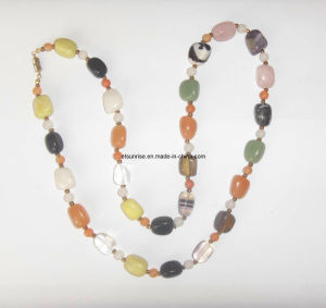 Fashion Crystal Beaded Jewelry Fashion Jewellery Necklace (ESB01344) pictures & photos
