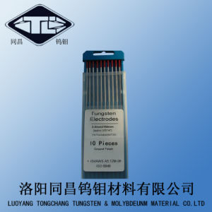 Wt 2% Thoriated Tungsten Electrodes Wt20 Dia3.0*150mm for TIG Welding pictures & photos