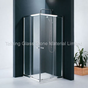 New Style Tempered Bathroom Glass