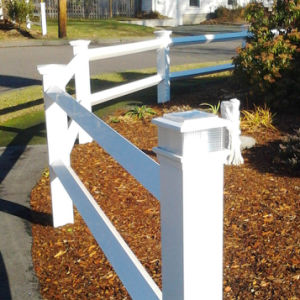 Diamond Fence with Virgin Vinyl-Solar Guard PVC pictures & photos
