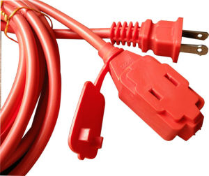 OEM Us Two Pins Extension Cord (AL-01+AL-02) pictures & photos