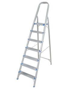 Household Aluminum Ladder (7 Steps) (SM-HLA007) pictures & photos