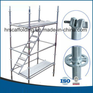 Q345 Q235A B 3.2-3.25mm Thickness Ringlock Scaffold / Allround Scaffolding pictures & photos