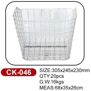 High Standard Quality and Cheap Price Bike Basket Ck-046 pictures & photos