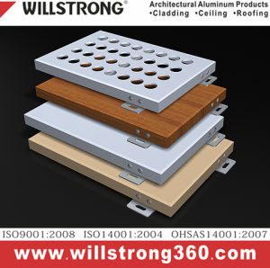 Aluminum Plate Powder Coating Willstrong pictures & photos