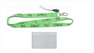 Lanyard with Badge Holder