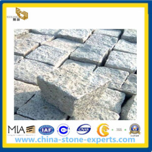 Tumbled Light Grey Granite Cobble (G603) for Landscaping (YQA) pictures & photos