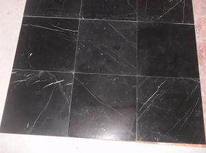 Chinese Nero Marquina Black Marble Slabs for Flooring Tiles Wall Cladding Mosaics Countertops pictures & photos
