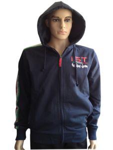Hot Sale Men′s Fleece Jacket Hooded Jacket pictures & photos