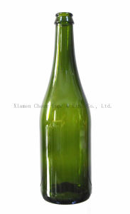 750ml Glass Champagne Bottle (XB750-3003DG) pictures & photos