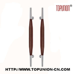 Good Quality Stainless Steel Wooden Pull Handle (TU-350-M) pictures & photos