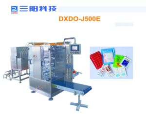 High Quality Tomato Paste Catsup Four-Side Sealing & Multi-Line Packing Machine pictures & photos