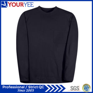 Affordable Customized Relaxed Fit Fr Long Sleeve T-Shirts Factory & Supplier (YZTX113) pictures & photos