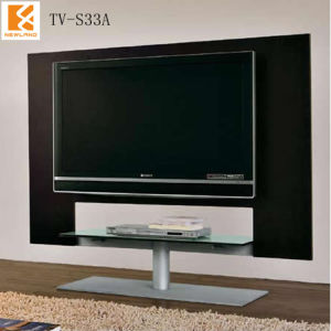China newland modern lcd tv table design tv s33a china for Table tv design
