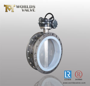 Monel Double Flanged Butterfly Valve pictures & photos
