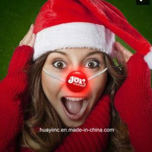 LED Light up Reindeer Nose Imprint Logo pictures & photos