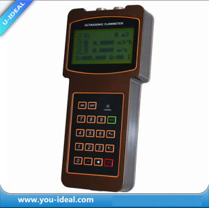 Hand-Held Ultrasonic Transducer Flow Meter/Portable Ultrasonic Flow Meter-Digital Flow Meter pictures & photos